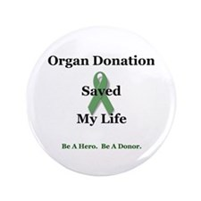 "My Transplant 3.5"" Button"