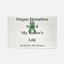 Sister Transplant Rectangle Magnet
