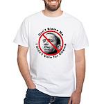 Anti Obama Don't Blame Me (Front) White T-Shirt