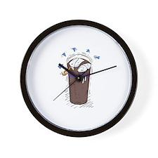 Crapachino Wall Clock