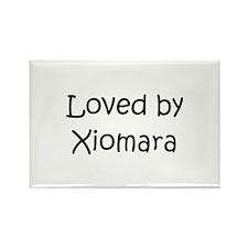 Cute Xiomara Rectangle Magnet
