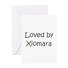 Xiomara Greeting Card