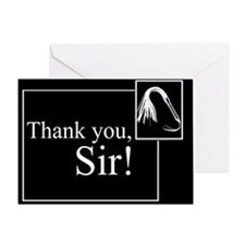 Thank You Sir Greeting Card