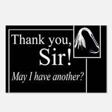 Thank You Sir Postcards (Package of 8)