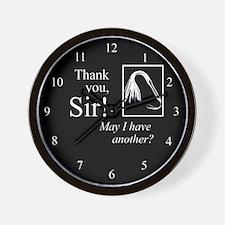 Thank You Sir Wall Clock
