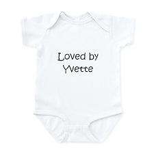 Funny Yvette Infant Bodysuit