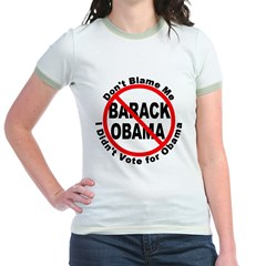 Anti Obama Don't Blame Me (Front) T