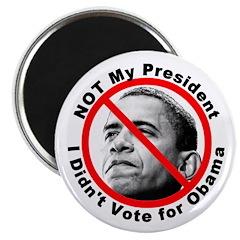 Anti Obama Not My President Magnet