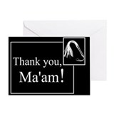 Dominatrix Greeting Cards