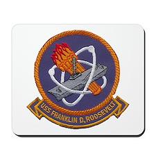 USS FRANKLIN D. ROOSEVELT Mousepad