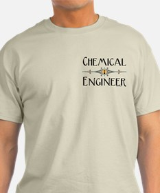 Chemical Engineer Line T-Shirt