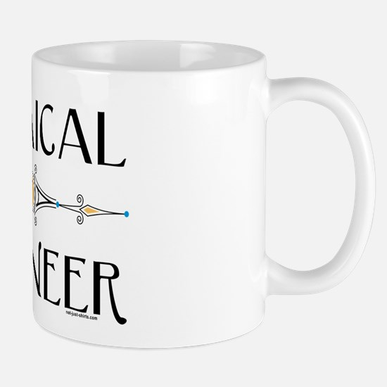 Chemical Engineer Line Mug
