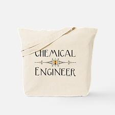 Chemical Engineer Line Tote Bag
