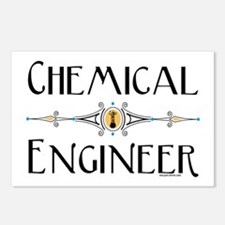 Chemical Engineer Line Postcards (Package of 8)