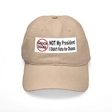 Anti Obama Not My President Baseball Cap