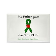 Father Donor Rectangle Magnet