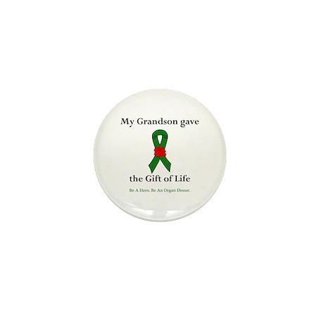 Grandson Donor Mini Button (10 pack)