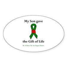Son Donor Oval Decal