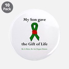 """Son Donor 3.5"""" Button (10 pack)"""