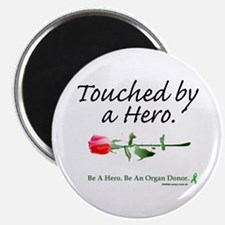 """Touched by a Hero 2.25"""" Magnet (10 pack)"""