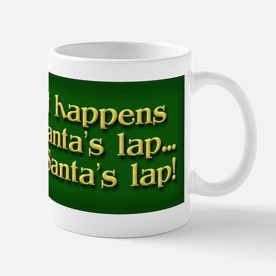 Santa's Lap Mug