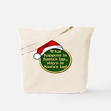 Santa's Lap Tote Bag