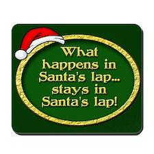 Santa's Lap Mousepad