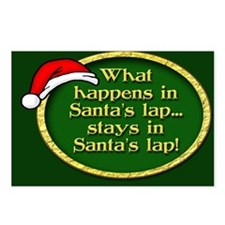 Santa's Lap Postcards (Package of 8)