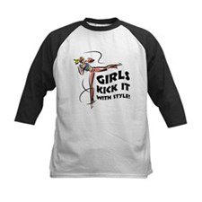 Girls Kick It with Style 1 Tee