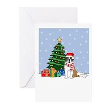 St Bernard Christmas Greeting Cards (Pk of 20)