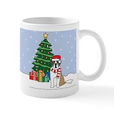 St Bernard Christmas Mug
