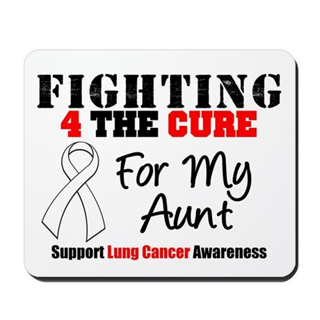 Fighting Lung Cancer Mousepad