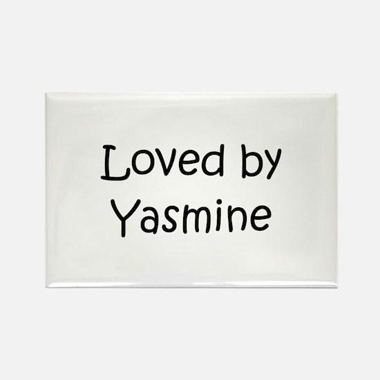 Unique Yasmine Rectangle Magnet