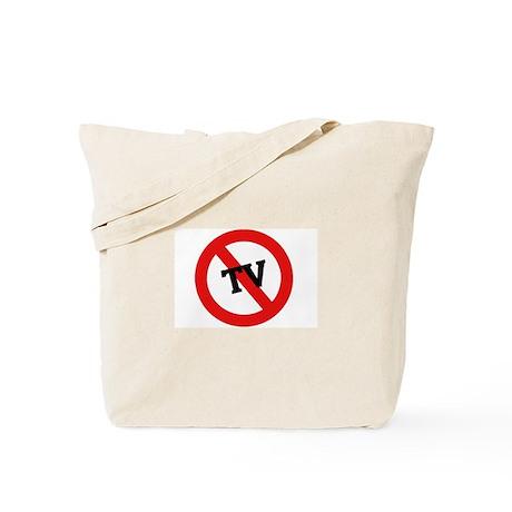Anti Tv Tote Bag