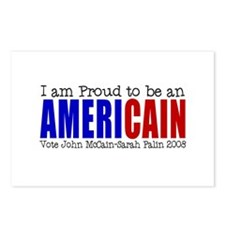 Proud Americain Postcards (Package of 8)