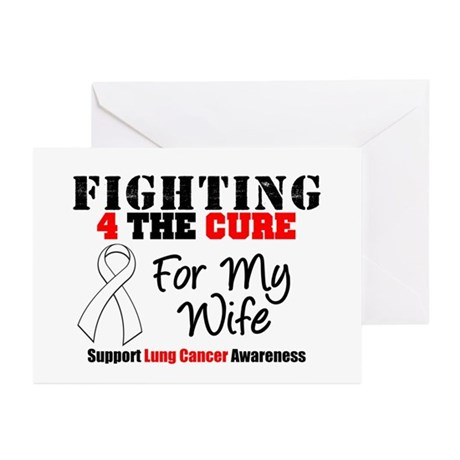 Fighting Lung Cancer Greeting Cards (Pk of 10)