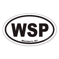 Westport WSP Euro Oval Sticker