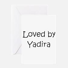 Funny Yadira Greeting Card