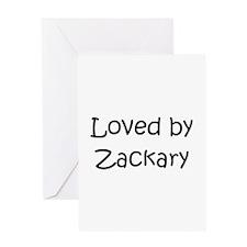 Cute Zackary Greeting Card
