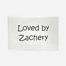 Cute Zachery Rectangle Magnet