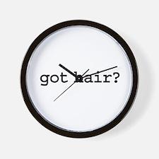 got hair? Wall Clock