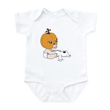Pumpkin Baby Girl Infant Bodysuit