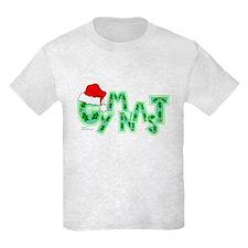 Santa Gymnast T-Shirt