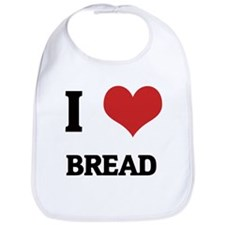 I Love Bread Bib