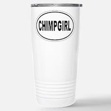Chimp Girl Stainless Steel Travel Mug