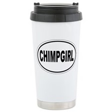 Chimp Girl Travel Mug