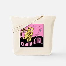 Chimp Girl Tote Bag