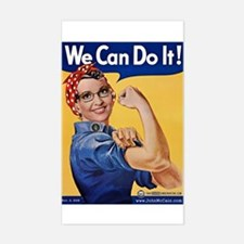 We Can Do It! Rectangle Decal