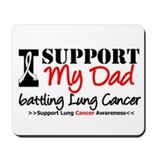 Support Lung Cancer Awareness Mousepad