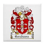 Gozdawa Family Crest Tile Coaster